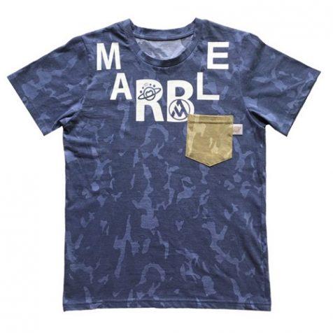 MARBLE迷彩Tシャツ