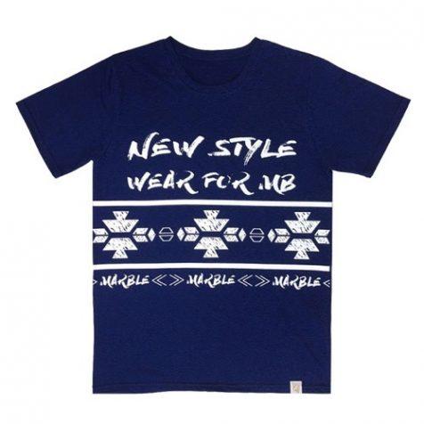 オルテガ柄Tシャツ